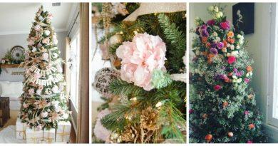 Květinové vánoční stromky je nový trend letošních vánoc