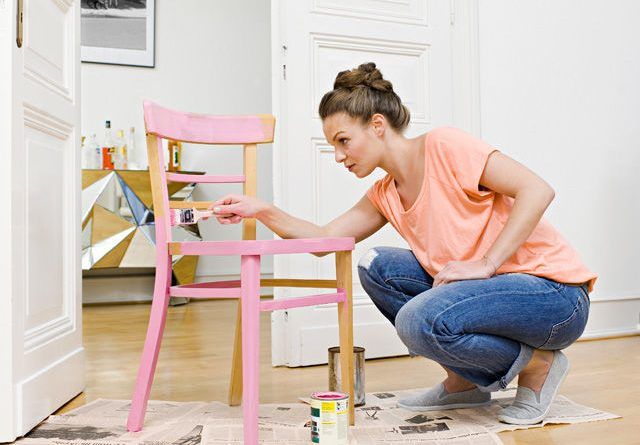 Natřete si židli nebo komodu a jiný nábytek