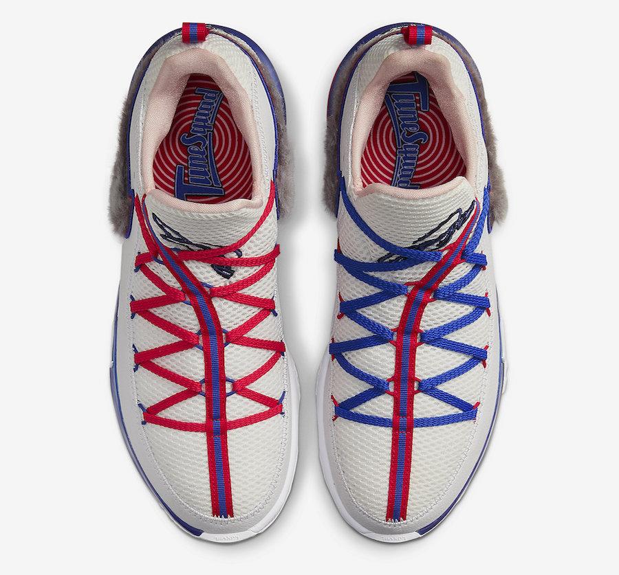 Tenisky Nike LeBron 17 Low Tune Squad