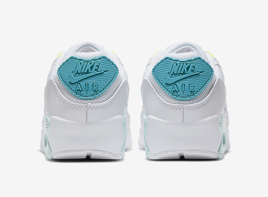 Tenisky Nike Air Max 90 with pastel hues