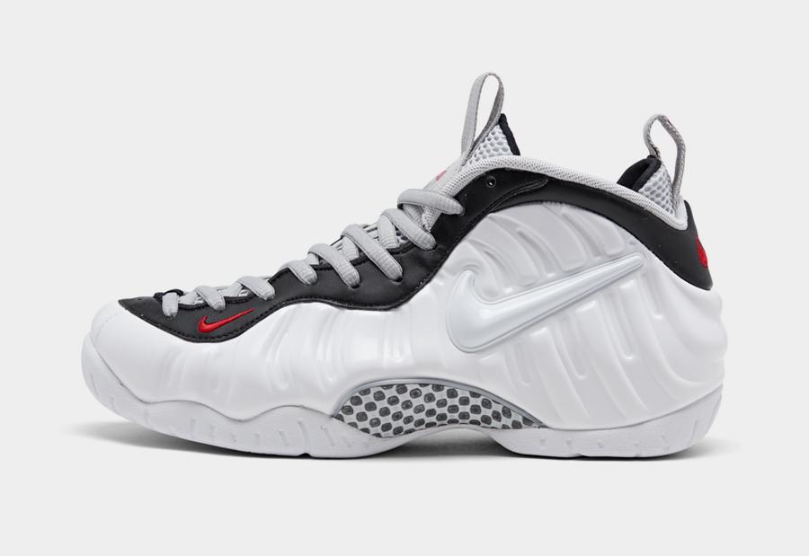 Tenisky Nike Air Foamposite Pro White Black Red