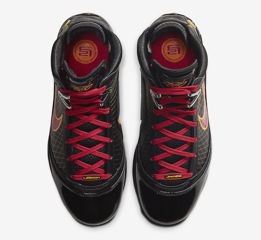 Tenisky Nike LeBron 7 Fairfax Away Black Red