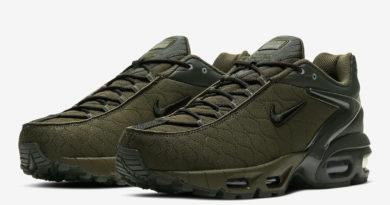 Tenisky Nike Air Max Tailwind V SP olivově zelená