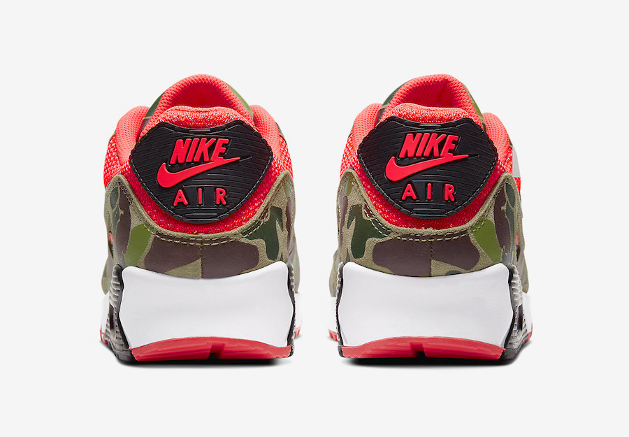 Tenisky Nike Air Max 90 Reverse Duck Camo
