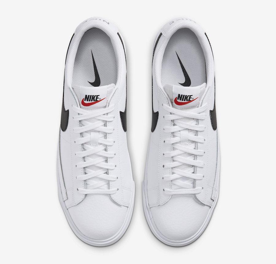 Tenisky Nike Blazer Low Leather White Black
