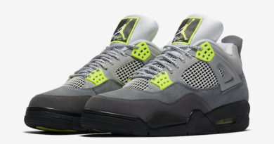 Tenisky Air Jordan 4 Neon Cool Grey Volt
