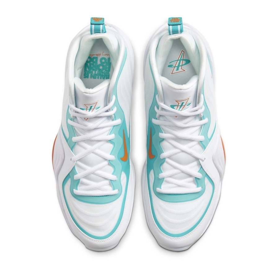 Tenisky Nike Air Penny 5 Alternate Miami Dolphins