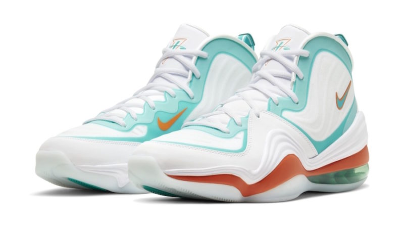 Tenisky Nike Air Penny 5 Alternate Miami Dolphins