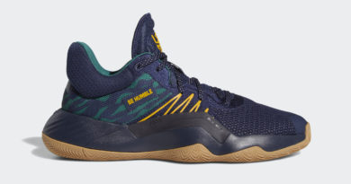 Tenisky adidas DON Issue 1 Be Humble Navy Green