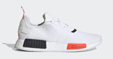 Tenisky adidas NMD R1 White Solar Red EH0045
