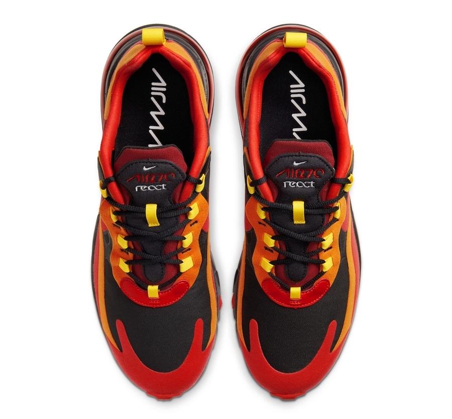 Tenisky Nike Air Max 270 React Lava Red Hot