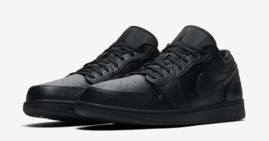 Tenisky Air Jordan 1 Low Triple Black 553558-091