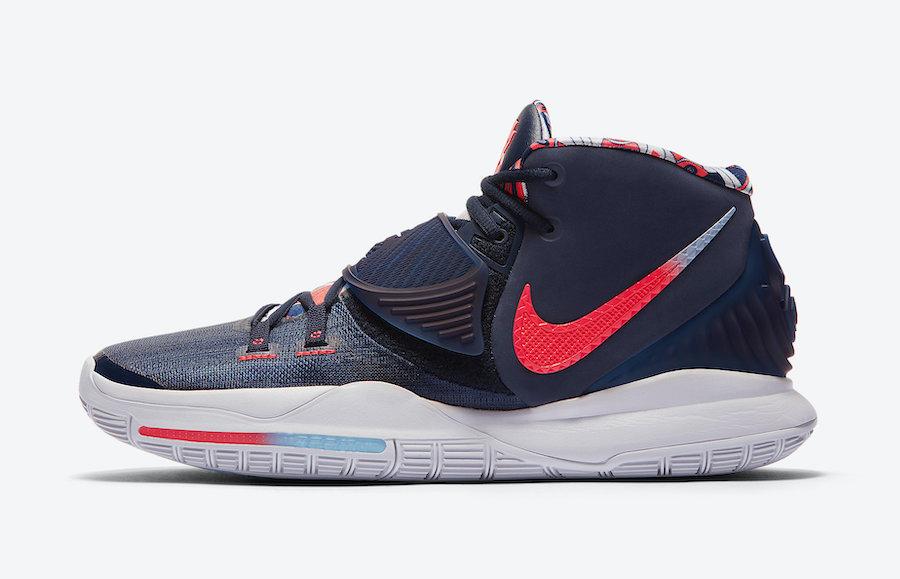 Tenisky Nike Kyrie 6 USA Midnight Navy BQ4630-402