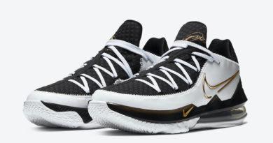 Tenisky Nike LeBron 17 Low Metallic Gold CD5007-101
