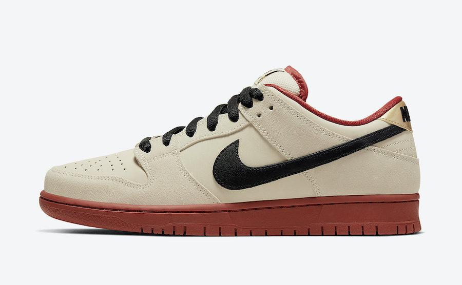 Tenisky Nike SB Dunk Low Muslin BQ6817-100
