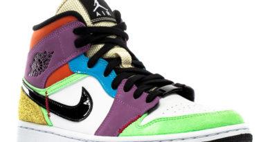 Tenisky Air Jordan 1 Mid SE Lightbulb Multicolor