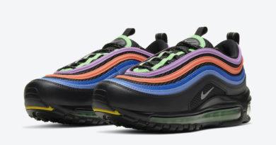 Tenisky Nike Air Max 97 GS Black Multicolor