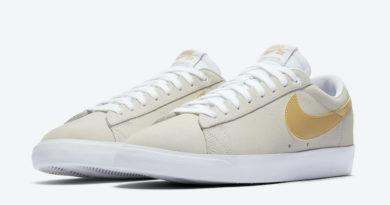 Tenisky Nike SB Blazer Low Golden Yellow Swoosh