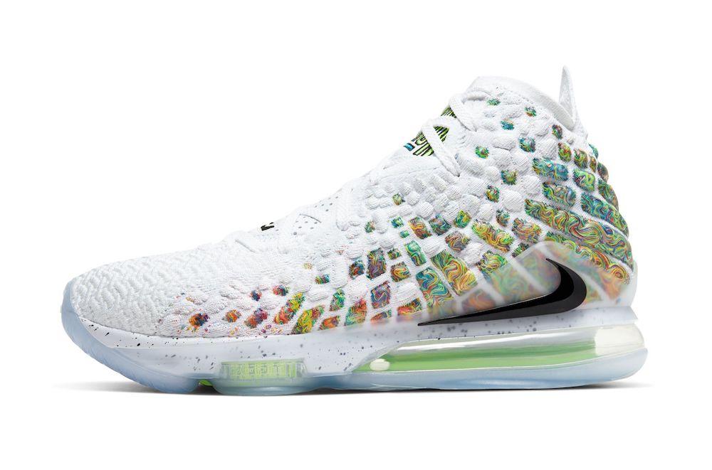 Tenisky Nike LeBron 17 Command Force Multicolor