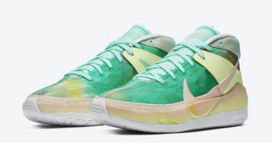Tenisky Nike KD 13 Chill Green Yellow CI9948-602
