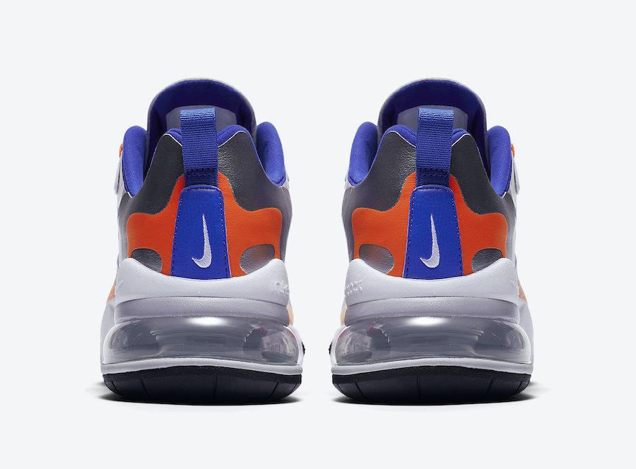Tenisky Nike Air Max 270 React Royal Blue Swoosh
