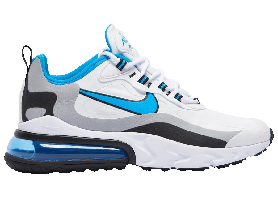 Tenisky Nike Air Max 270 React Sky Blue Swoosh