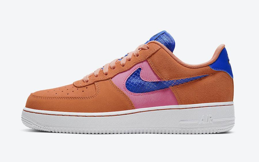 Tenisky Nike Air Force 1 Low Orange Trance