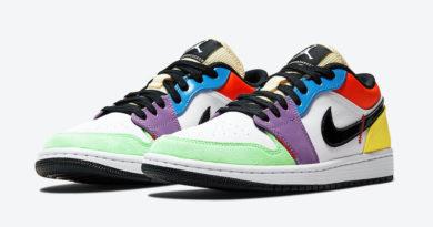 Tenisky Air Jordan 1 Low WMNS Multicolor