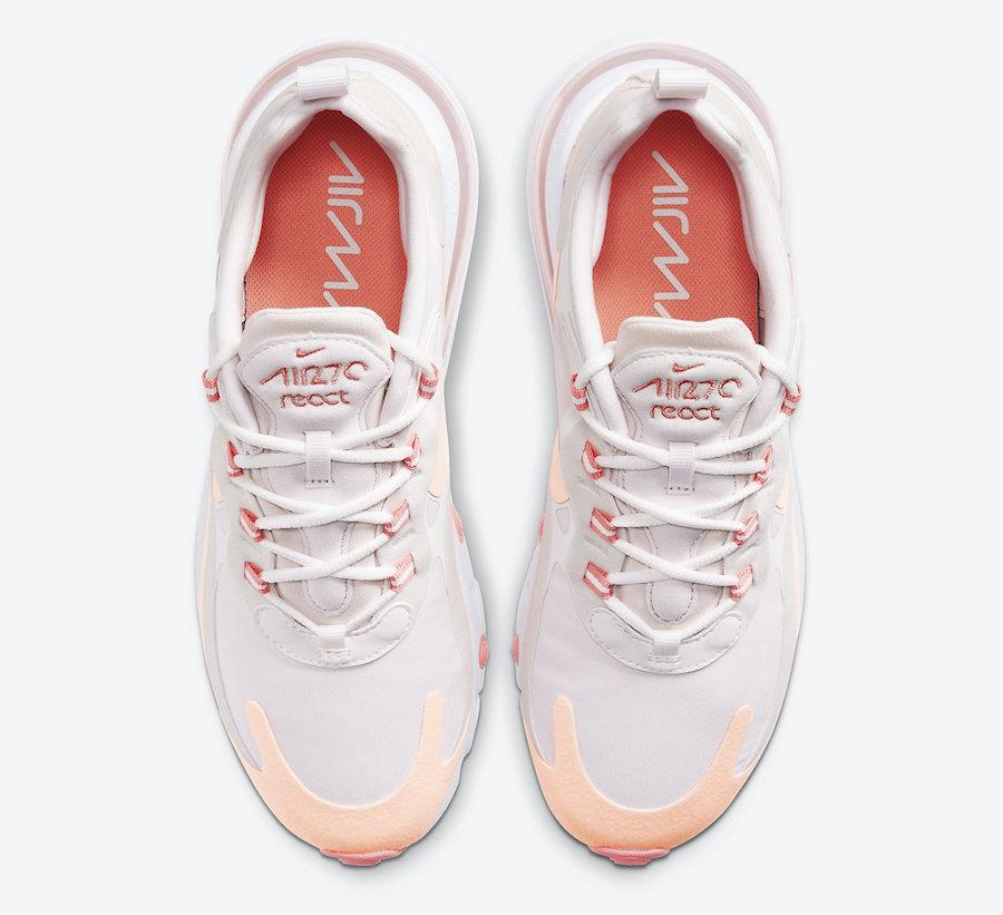 Tenisky Nike Air Max 270 React Crimson Tint