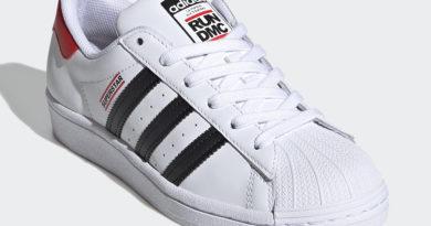 Tenisky Run DMC x adidas Superstar White colorway