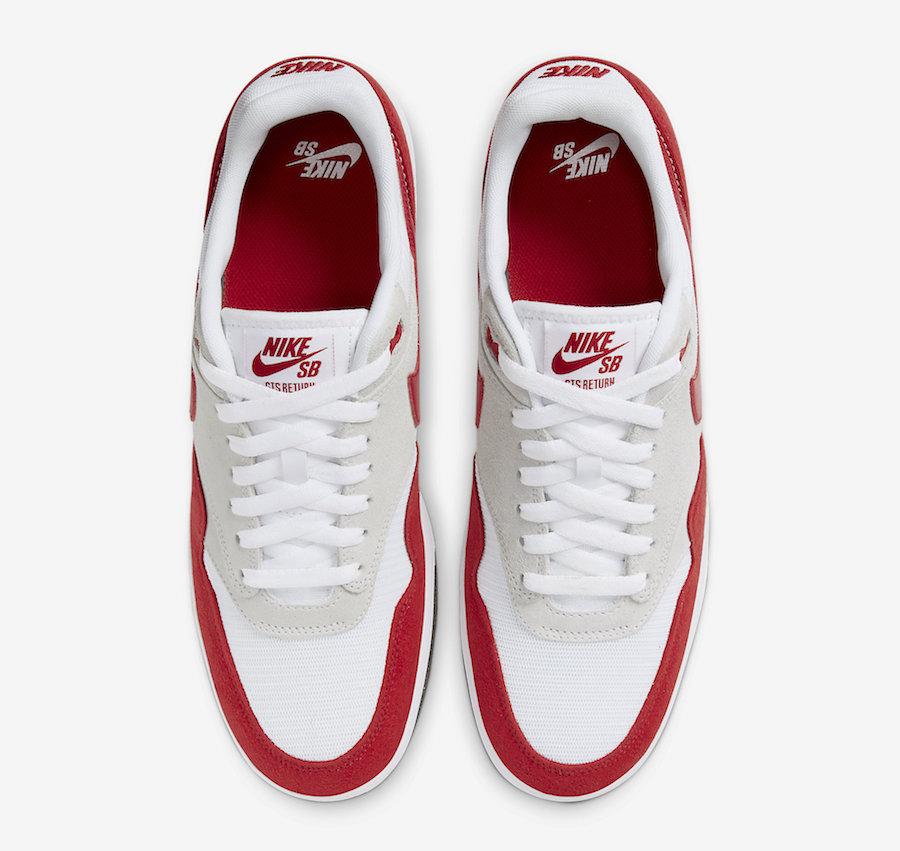 Tenisky Nike SB GTS Return Air Max 1 Red CK3464-600