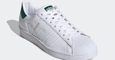 Tenisky adidas Superstar White Green FX4279