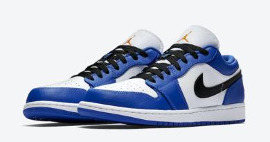 Tenisky Air Jordan 1 Low Blue Orange 553558-401