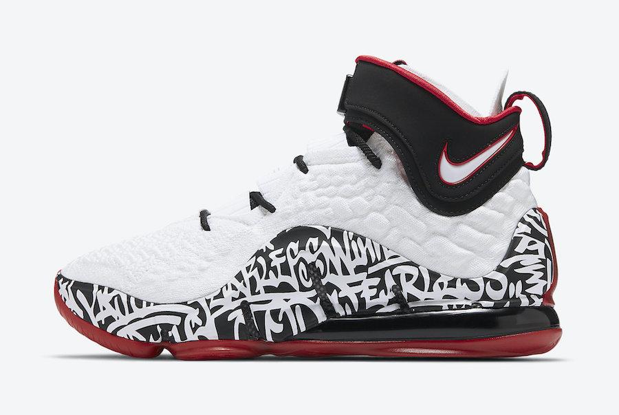 Tenisky Nike LeBron 17 Graffiti CT6052-100