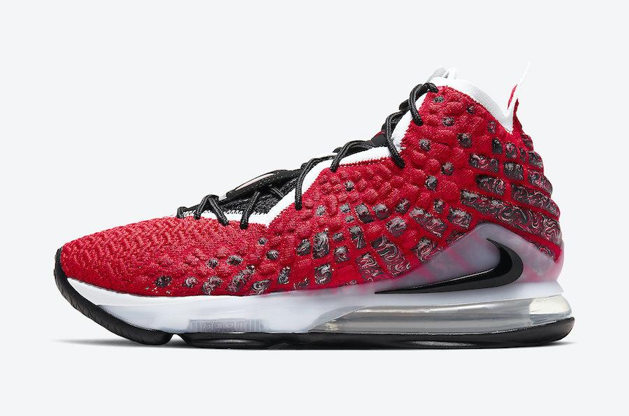 Tenisky Nike LeBron 17 Uptempo BQ3177-601
