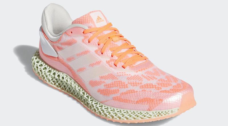 Tenisky adidas 4D Run Signal Coral FW6838