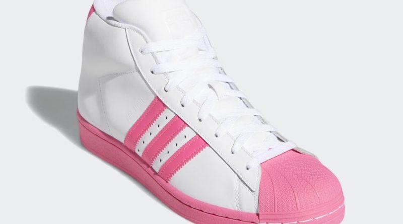 Tenisky adidas Pro Model White Pink FY2755