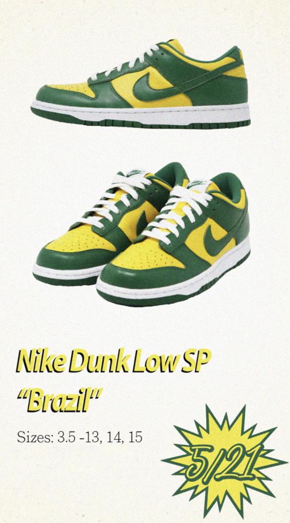 Tenisky Nike Dunk Low SP Brazil CU1727-700