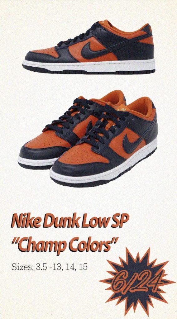 Tenisky Nike Dunk Low SP Champ Colors CU1727-800
