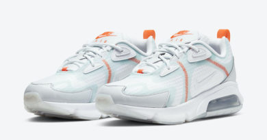 Tenisky Nike Air Max 200 Orange Light Blue