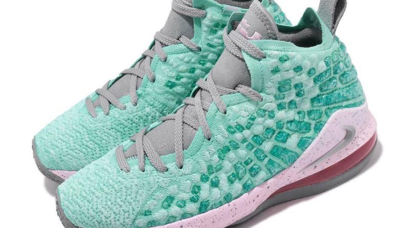 Tenisky Nike LeBron 17 GS South Beach BQ5594-444