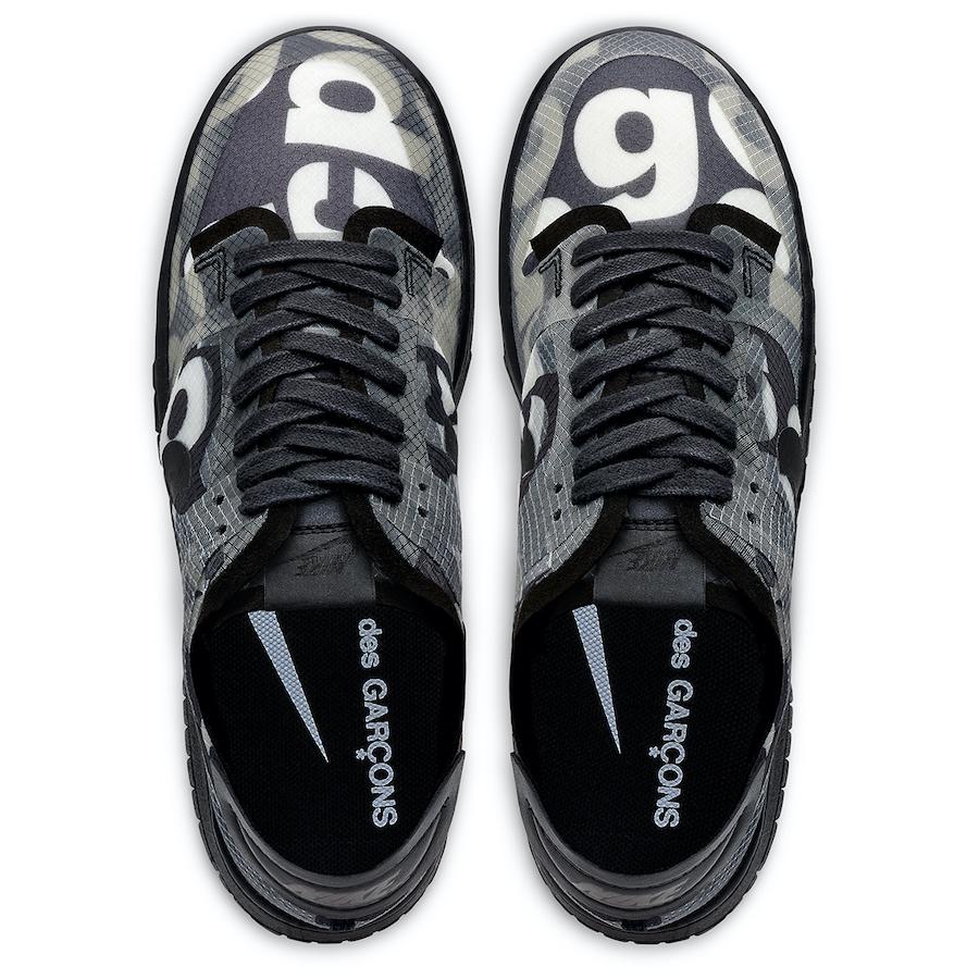 Tenisky Comme des Garçons x Nike Dunk Low CZ2675-001