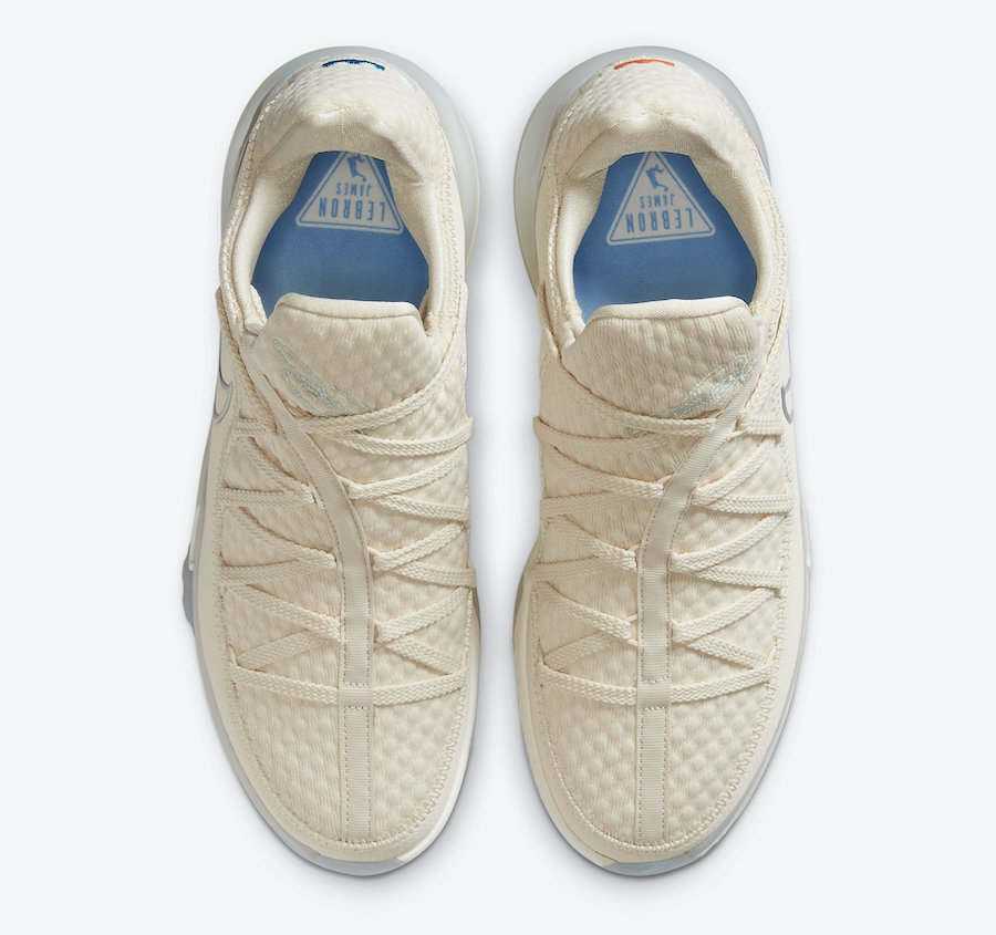 Tenisky Nike LeBron 17 Low Light Cream CD5007-200