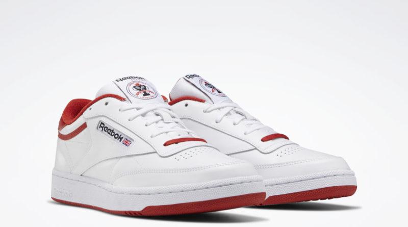 Tenisky Reebok Club C 85 White Red FX4764