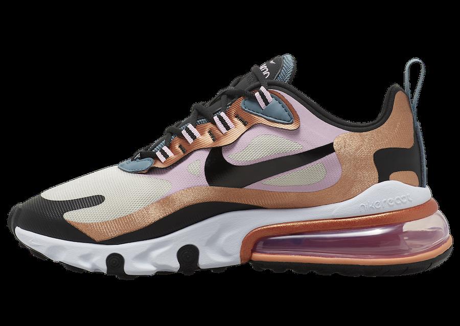 Tenisky Nike Air Max 270 React Bronze CT1833-100