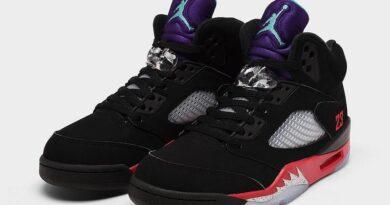 Tenisky Air Jordan 5 Top 3 Black CZ1786-001