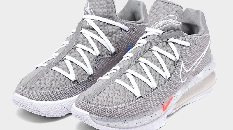 Tenisky Nike LeBron 17 Low Particle Grey CD5007-004