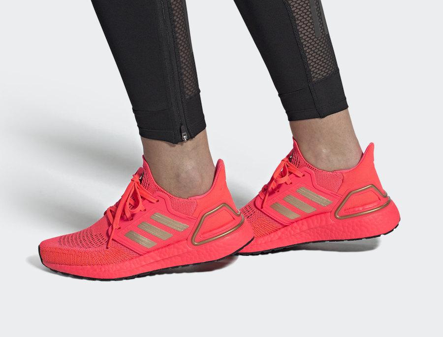 Tenisky adidas Ultra Boost 2020 Signal Pink FW8726