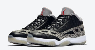 Tenisky Air Jordan 11 Low IE Black Cement 919712-006