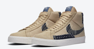 Tenisky Nike SB Blazer Mid Sesame Denim CT0715-200
